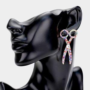 Scissor Earring Set